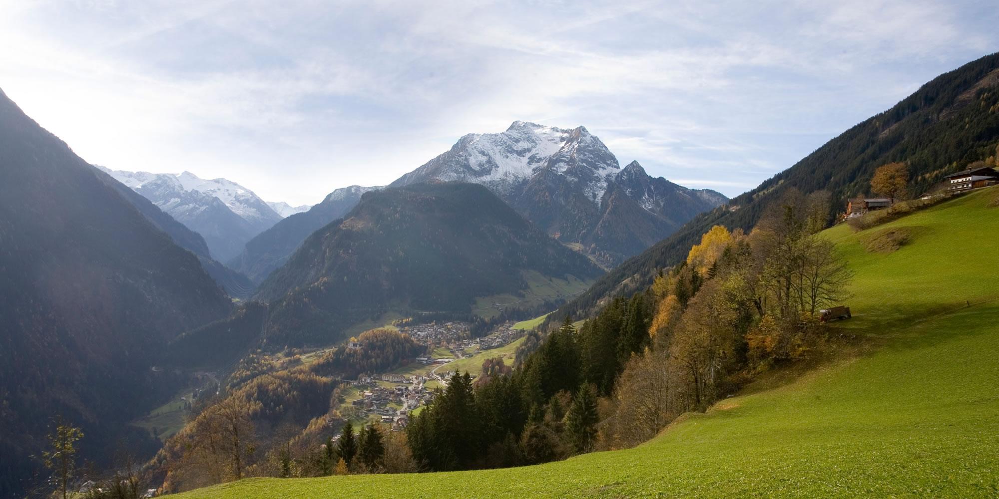 Herbststimmung in Finkenberg